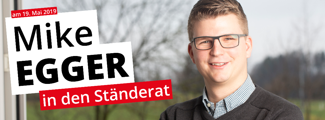 Mike Egger in den Ständerat